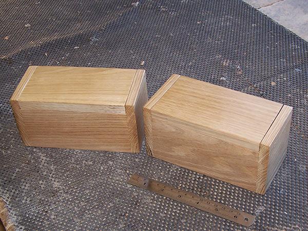 Hardwood Custom Wooden Boxes
