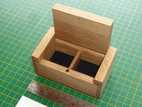 Small Hardwood Custom Wooden Boxes For Presentation And